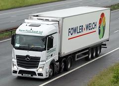 Mercedes Actros new look DK13 WKE (gylesnikki) Tags: white truck artic mp4 lockerbie jhp