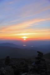 Sunset 6/20/13 (rightthewrong) Tags: new sunset white mountains june washington mt peak nh hampshire presidential mount observatory summit range cairn obs mwo presidentials 2013