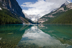 Lake Louise - Banff National Park - SFB_7971-1.jpg (bechtelsf) Tags: lake canada reflection water nikon banff banffnationalpark lakelouis d7000