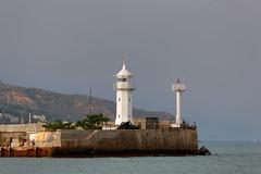 Yalta 5 (Alexxx1979) Tags: 2012 blacksea cannon city crimea gun july lighthouse sea summer yalta