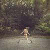 263 (m.clemm) Tags: portrait woman selfportrait motion girl self vintage square movement box longhair step squareformat faceless 365 gravel selfie hairflip