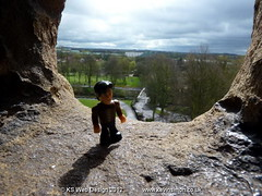 The Doctor Admiring The View From Tamworth Castle