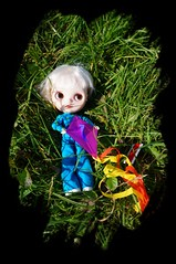 Tippi and her tiny kite