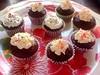 Mini Devil's Food Cupcakes (strawberryconfetti) Tags: food cute love cake dessert cupcakes chocolate sprinkles minimuffins devilsfoodcake minicupcakes