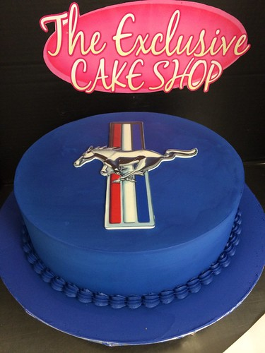 Mustang Cake Ideas