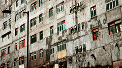 countdown ii |  @  (Chez C.) Tags: street windows urban abstract building abandoned architecture hongkong downtown industrial protest  exploration kowloon redevelopment kwuntong    nikond600