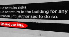 'Do Not Use Lifts' (EZTD) Tags: signs office foto phone photos photographs fotos londonoffice cityoffice fotograaf donotuse 2013 fotosoficina officeimages eztd eztdphotography photograaf eztdphotos eztdgroup fotosdebureau eztdlondon