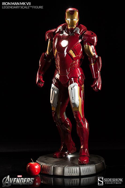 Sideshow - 鋼鐵人馬克7 傳奇系列雕像
