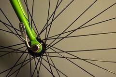 4 (fpdd!) Tags: verde green bicycle wheel nadia spoke bicicleta fixie rueda rayos