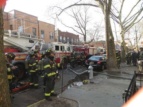 Fatal Fire On 57th St In Boro Park Section Of Brooklyn