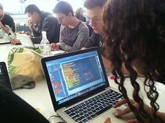 Intro to Comp Sci, Gabby + BYOB (jenksbyjenks) Tags: teals room402 nycischool
