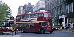 Glaswegian poetry (Fray Bentos) Tags: bus doubledecker ecw bristollodekka bristolflf scottishbusgroup westernsmt unitedautomobileservices tynemouthdistrict shn254f