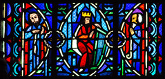 David (campra) Tags: amiens france stained glass window vitraux church cathedral chapel sacrécoeur holy heart jean gaudin jacques le breton 1933 king david harp