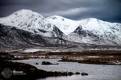 Snow Covered Mountains on Rannoch Moor (MacLeanPhotographic) Tags: snow mountains scotland highlands nikon ngc nikkor d800 rannochmoor 80200f28 lee09ndgrad