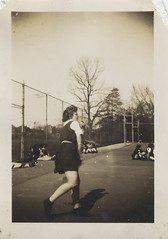 Tennis2 (BasiliskSam) Tags: tennis schoolgirls gymslips
