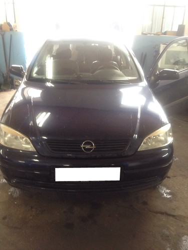 "Opel Astra G 1.6 - Z16SE <a style=""margin-left:10px; font-size:0.8em;"" href=""http://www.flickr.com/photos/104493258@N06/12049318533/"" target=""_blank"">@flickr</a>"