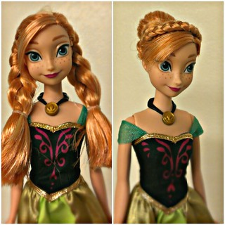 Princess Anna- Before and After