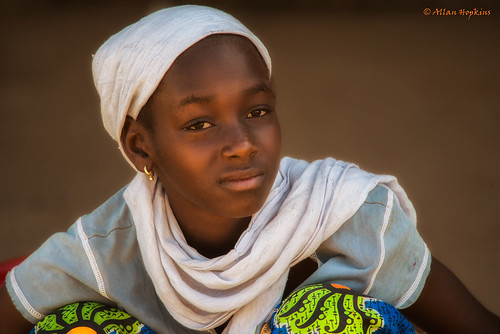 Young Gambian woman