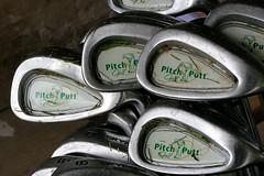 golfclubs close-up