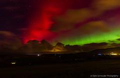 Aurora at Braaid, Isle of Man (Heathcliffe2) Tags: sky colour night stars aurora isleofman northernlights borealis braaid