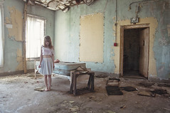 (yyellowbird) Tags: selfportrait abandoned girl cari asylum