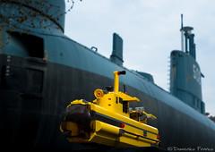 "LEGO 4888 vs Sottomarino ""Enrico Toti"""