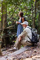 Waiting (Ursula in Aus (Resting - Away)) Tags: sumatra indonesia unesco bukitlawang gunungleusernationalpark earthasia