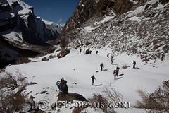 Climbing Annapurna (Get-Me Pics) Tags: nepal cloud mountain snow animal rural backpack kathmandu local pokhara annapurna