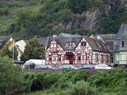 Fachwerk an der Mosel bei Kobern-Gondorf