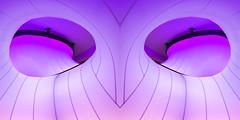 UK - London - Science Museum - The Winton Gallery detail 03_flipped_DSC3666 (Darrell Godliman) Tags: uklondonsciencemuseumthewintongallerydetail03flippeddsc3666 superhero pink flipped flipping mirrored zahahadid wintongallery sciencemuseum london unitedkingdom uk greatbritain gb england europe contemporaryarchitecture modernarchitecture architecture design purple
