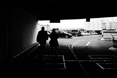 (formwandlah) Tags: kaiserslautern sunny day winter street photography streetphotography silhouette silhouettes silhouetten shadow schatten dark noir urban candid city strange gloomy cold sureal bizarr skurril abstract abstrakt melancholic melancholisch darkness light bw blackwhite black white sw monochrom high contrast ricoh gr pentax formwandlah thorsten prinz licht shadows fear paranoia einfarbig schwarzer hintergrund nacht fotorahmen spiegelung reflection reflektion schärfentiefe bürgersteig landstrase passage