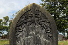 What's The Story Morning Glory? (Discover Waikumete Cemetery) Tags: waikumetecemetery iconography johnphilpot maryphilpot