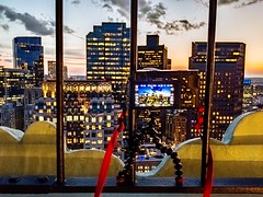 Behind The Scenes At The Custom House Tower ((Jessica)) Tags: gorillapod behindthescenes hdrraw lightroommobile a6000 skyscrapers sonya6000 alpha6000 massachusetts sunset customhousetower view city boston clouds downtown sony sonyalpha newengland