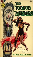 Gold Medal Books 703 - Mike Avallone - The Voodoo Murders (swallace99) Tags: goldmedal vintage 50s murder mystery paperback mitchellhooks