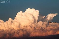 Parecemos nubes (Visión Focal) Tags: nubes crepusculo atardecer cielo clouds red sky dawn