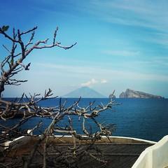 eolie_panorama_stromboli_panarea (Le isole d'Italia) Tags: isole eolie aeolian islands landscape stromboli panarea panorami