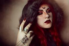 Witchcraft (Juliet García Photography) Tags: selfportrait redhead retrato pelirroja bruja makeup mua