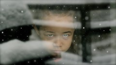DON'T MESS WITH OUR WORLD. WE, THE CHILDREN, WILL NOT FORGIVE YOU. (Marie.L.Manzor) Tags: kid children portrait look eye bokeh focus nikon d610 marielmanzor snow winter nikkor wow