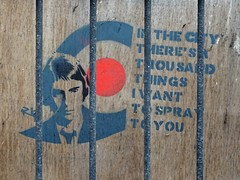 In The City.... (stillunusual) Tags: manchester mcr city england uk northernquarter nq manchesterstreetphotography streetphotography backpiccadilly paulweller inthecity manchesterstreetart streetart urban urbanart urbanwalls wall wallart wallporn graffiti graffitiporn stencil 2017