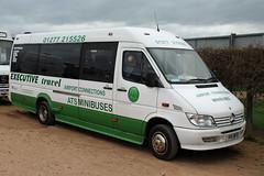 ATS Minibuses, Romford H15 WFB, Mercedes Sprinter at Cheltenham racecourse (majorcatransport) Tags: essexbuses mercedesbenz mercedessprinter stanford cheltenham atsminibusesromford
