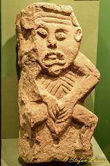 Lavey Sheela-na-gig (Salmix_ie) Tags: county cavan sheelanagig lavey museum ballyjamesduff megalithic stone carving pagan pre christian druid fertility symbol nikon nikkor d500