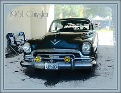 1954 Chrysler (novice09) Tags: chrysler 1954 backtothefifties carshow ipiccy befunky pencilsketch