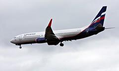 Aeroflot VP-BGI, OSL ENGM Gardermoen (Inger Bjørndal Foss) Tags: vpbgi aeroflot boeing 737 osl engm gardermoen