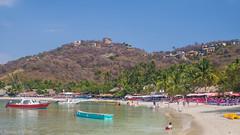 Playa las Gatas 2 (kensparksphoto) Tags: zihuatanejo zihua beach las gatas playa mexico tropical