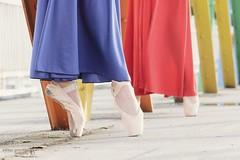 Pointe Shoes (Pelayo González Fotografía) Tags: dance colors shoes dancer ballet retrato ballerina pointes bailarina danza en pointe