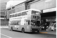 G M Buses 5181 (ANA 181Y) (SelmerOrSelnec) Tags: gmbuses mcw metrobus ana181y manchester piccadillybusstation gmt monochromatic bus