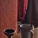 Chai tea break and incense