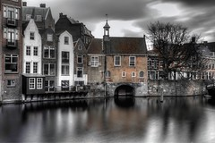 Historic Delfshaven (Rik Tiggelhoven Travel Photography) Tags: historic delfshaven rotterdam nederland netherlands holland europe europa architecture building city cityscape long exposure longexposure water reflection selective color hdr canon 6d ef24105mmf4lisusm rik tiggelhoven travel photography scenery fader nd filter ndfilter neutral density elly hendrix brons