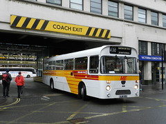 Midland Fox, heading for the Midlands. (Renown) Tags: bus coach dualpurpose dp leyland leopard psu3 marshall midland red fox gjw43n london victoria coachstation 85th 85years event