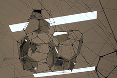Touch of Red (JB by the Sea) Tags: sanfrancisco california february2017 sanfranciscomuseumofmodernart sfmoma financialdistrict tomassaraceno stillnessinmotioncloudcities